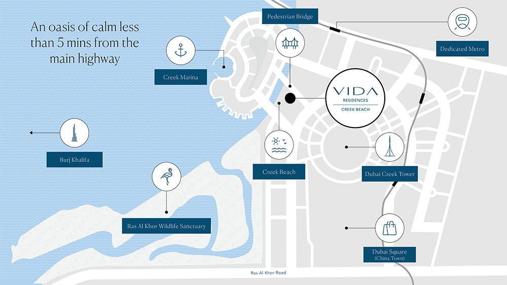 vida residences location